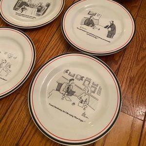 Restoration hardware New Yorker vtg plates.